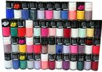 50 x Collection Work the Colour, 7 Day Nail Polish  | RRP £150+ | Wholesale
